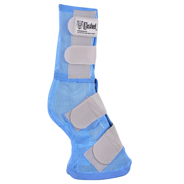 Cashel Crusader Cool Leg Guards III - Blue