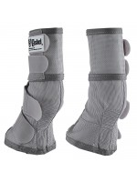 Cashel Crusader Cool Leg Guards III - Silver Grey