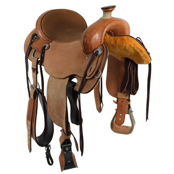 Drover Roughout Trail Saddle