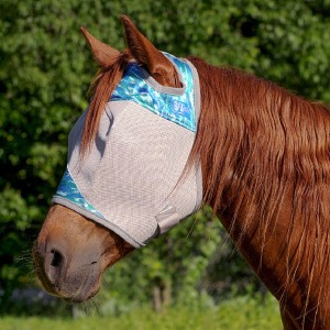 Cashel Standard Fly Mask - Watercolour Blue