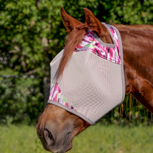 Cashel Standard Fly Mask - Watercolour Pink