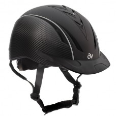 Ovation® Sync with Carbon Fiber Print Helmet - Black